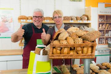 erfolgreiches bäckerteam