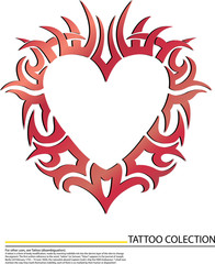 Red Heart Design Pattern Graphic vector