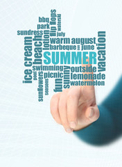 summer word cloud
