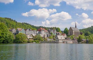 Wuppertal-Beyenburg  am Wupperstausee im Bergischen Land