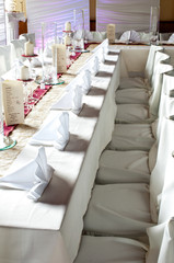 gedeckter Tisch, Festtafel