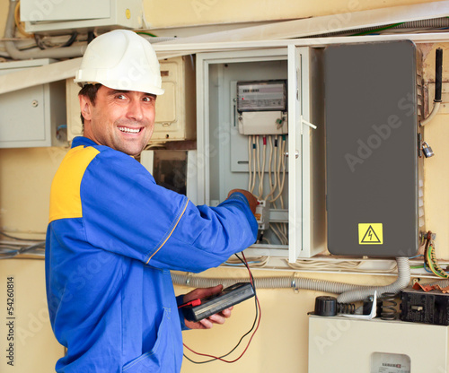 man electrician