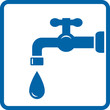 icon with tap and drop