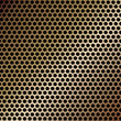Metallic mesh texture vector background