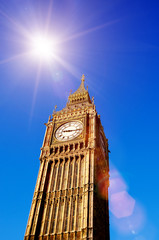 big ben sunshine