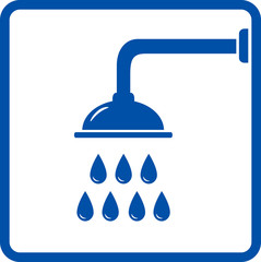 icon with shower head