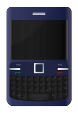 QWERTY keyboard mobile phone