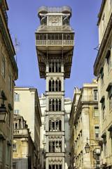 Santa Justa Lift at Lisbon, Portugal