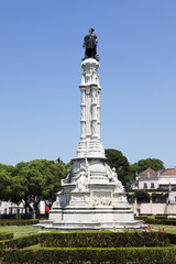 Alfonso de Albuquerque monument at Lisbon