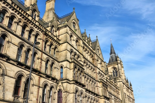 Manchester, UK - the City Hall