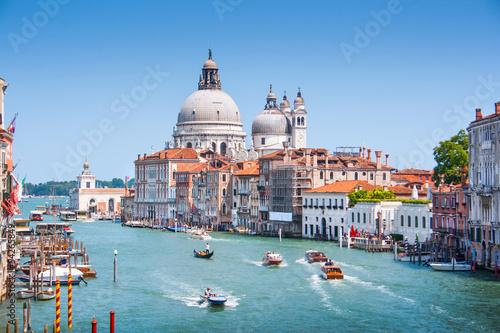Grand Canal and Basilica Santa Maria della Salute, Venice, Italy - 54265849