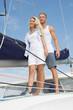 Segler - Liebesglück auf Hochzeitsreise - Mann und Frau
