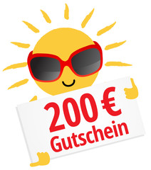 200 € Gutschein