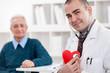 Cheerful cardiologist