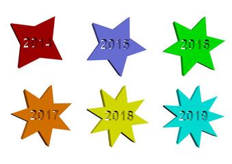 Yıldız 2014,2015,2016,2017,2018,2019