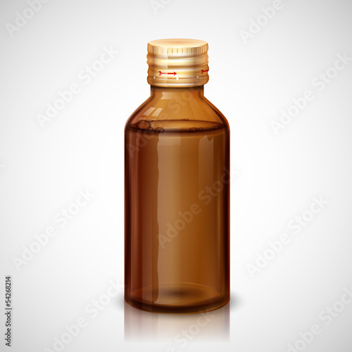 Medicine Syrup Bottle