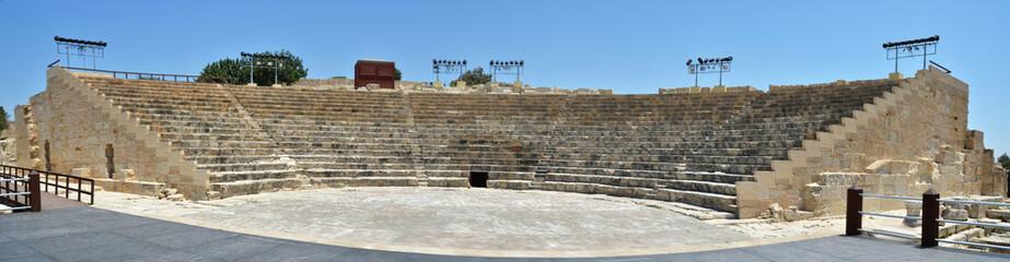 Kourion's Greco-Roman theatre. Cyprus