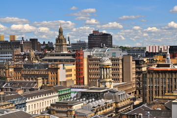 Glasgow City Skyline