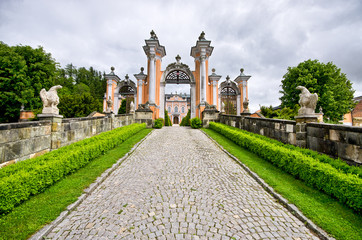 Nove Hrady palace, Czech Republic