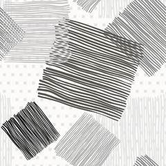 Abstract geometric background. Monochrome