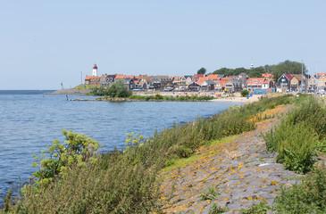 Cityscape of Village Urk, the Netherlands