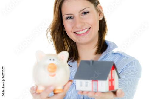fleißig fürs eigenheim sparen