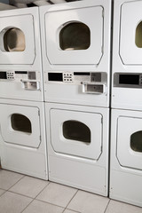 Self-Service Dryers In Laundry