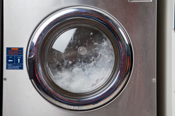 Water Spinning In Washing Machine
