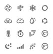 Air Conditioning Icons - 54275820