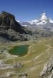 Riffelsee - die grüne Lagune unterm Matterhorn