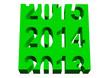 Leinwandbild Motiv Yeşil 2014