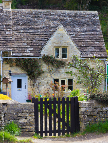 Old Cottage, Bibury,, Gloucestershire, Cotswolds, UK