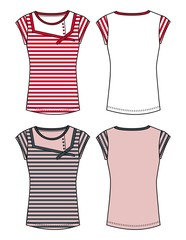 girl apparel template