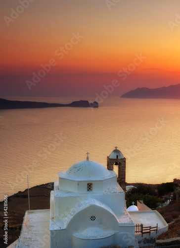 Panagia Thalassitra church , Milos island, Cyclades, Greece