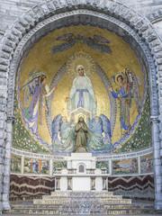 Lourdes, chapel external