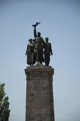 Tourism in Sofia, Monument to the Soviet Army