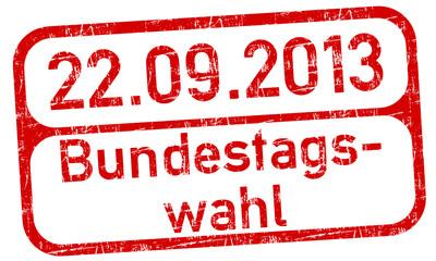Bundestag Wahl Stempel  #130716-svg04