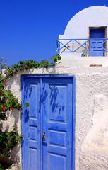 Santorin, île grecque des Cyclades en Grèce
