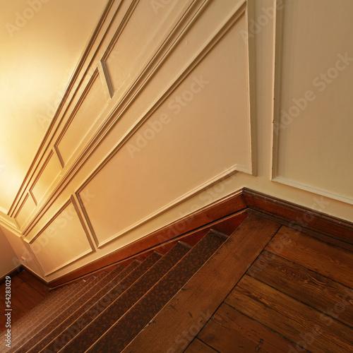 moulure cage d 39 escalier art d co photo libre de droits sur la banque d 39 images. Black Bedroom Furniture Sets. Home Design Ideas