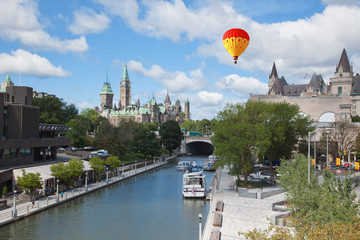 Parliament of Canada and Rideau Canal