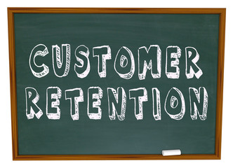 Customer Retention Words Dartboard Tips Advice Keeping Business