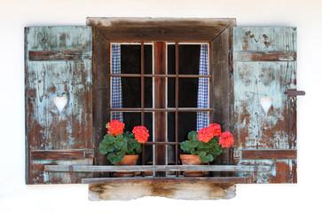 Fenster auf dem Land