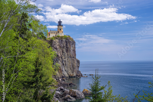 Foto op Plexiglas Grote meren Split Rock Lighthouse, Lake Superior
