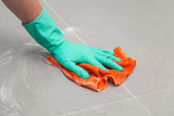 Floor cleaning rag