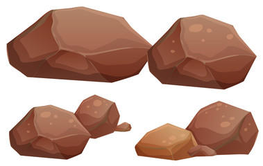 Big and small rocks