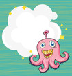 An empty cloud template with an octopus