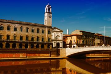 Lurgarni in Pisa. Along Arno River, Tuscany