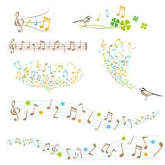 音符 素材 セット