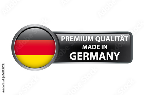 Premium Qualität - Made in Germany - Button