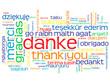 """""""DANKE"""" Schlagwortwolke (Karte Bild Vielen Dank Sehr Schön)"""